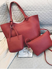 Basic Plain Women Shoulder Bags