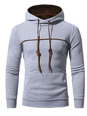 Contrast-Trim-Kangaroo-Pocket-Men-Hoodie