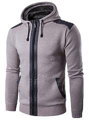 Hooded-Patch-Pocket-Men-Coat