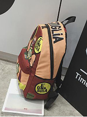 Personality Stylish Cartoon Graffiti Print Special Backpack