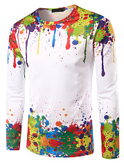 Men-Round-Neck-Multi-Color-Printed-Long-Sleeve-T-Shirt