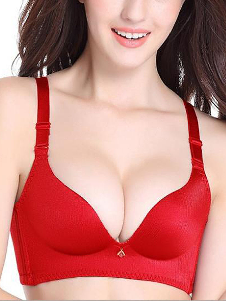 Adjustable Wireless Printed Soft Seamfree Breathable Bra