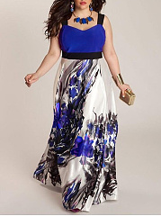 Printed Plus Size Midi & Maxi Dresses