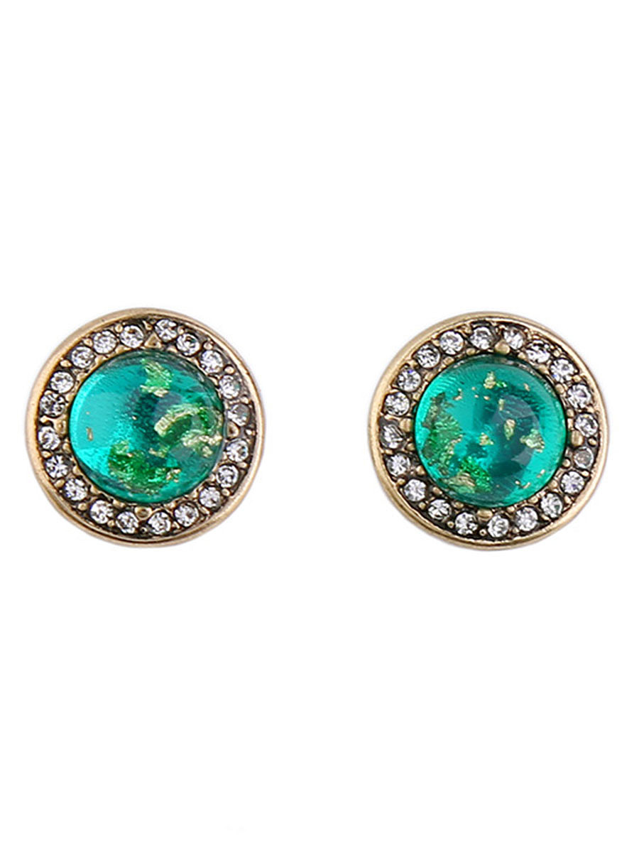 Charming Rhinestone Stud Earrings
