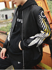 Band-Collar-Embroidery-PU-Leather-Men-Bomber-Jacket