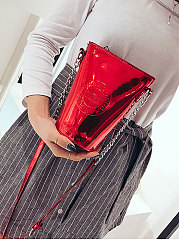 PU Plain New Style Clutches For Women