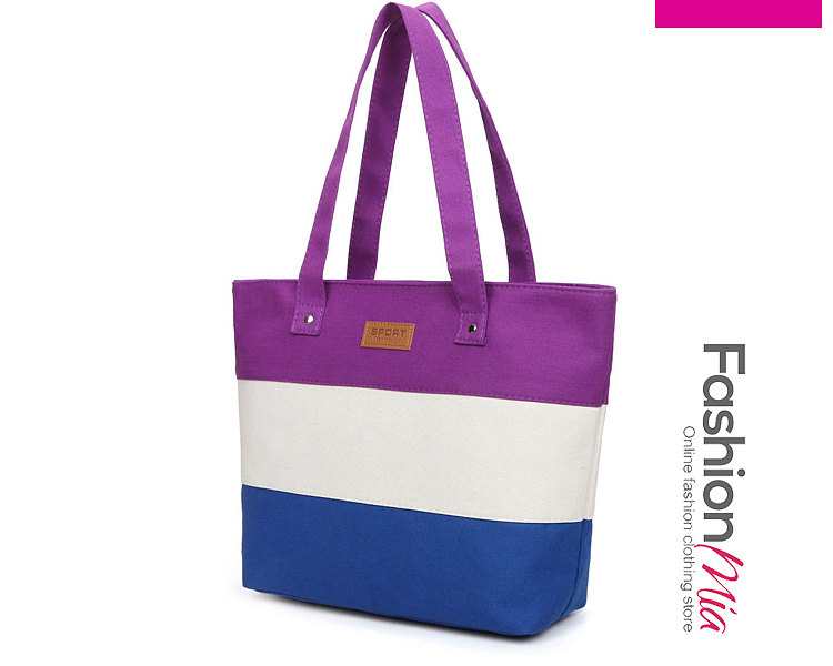 Color Block Shoulder Bags For Women