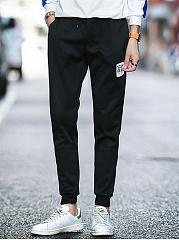Elastic-Waist-Letters-Mens-Casual-Jogger-Pants