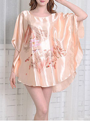 Lotus-Batwing-Sleeve-Nightgown