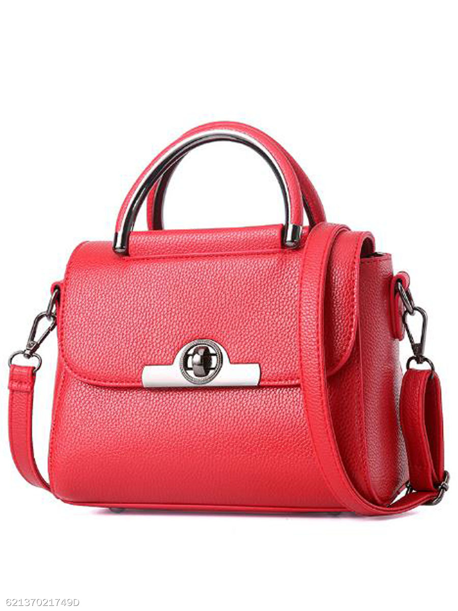 Elegant Exquisite Pendant PU Shoulder Bag