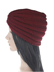 Hot Warm Europe Stylish  Knitted Hats For Lady