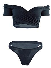 Off-Shoulder-Plain-Bikini