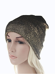 Hot Europe Stylish Gilding  Knitted Hats
