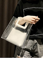 Plain Chic Hand Bags For Women