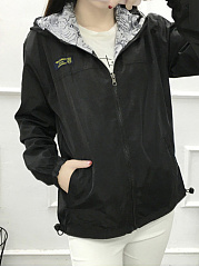 Zips  Two Way  Plain  Long Sleeve Jackets