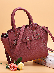 Classic Pu Leather Crossbody Bag