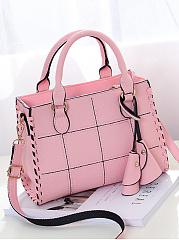 Plaid-Quilted-Shoulder-Bag-Crossbody-Bag
