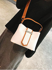 Contrast Stitching Crossbody Bags For Women