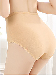 New High Waisted Non-Trace Soft Cotton Panties