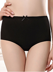 Plus Size Cotton Body Fitness Panties