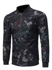 Band-Collar-Abstract-Print-Men-Jacket