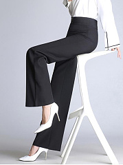 Formal-Plain-High-Rise-Wide-Leg-Pants