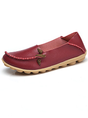 Comfy-Soft-Sole-Loafers-With-Contrast-Lace-Up