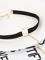 Sexy Black Chic Chocker For Women
