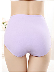 High Waisted Non-Trace Comfprtable Cotton Panties