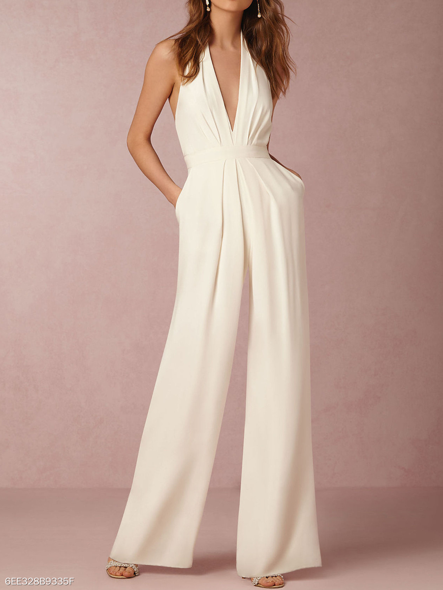 https://www.fashionmia.com/Products/halter-pocket-plain-wide-leg-jumpsuit-198073.html