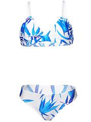Sexy-Leaf-Printed-Spaghetti-Strap-Bikini
