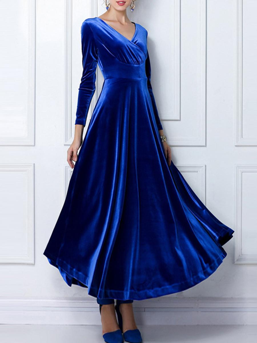 Well! not velvet vintage dress