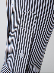 Trendy Pinstripe Men Shirts