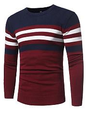 Round-Neck-Striped-Men-Sweater