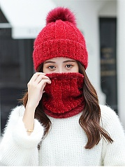 Korea Style Fashion Two Piece Hats For Winter
