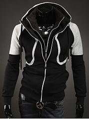 Hooded-Color-Block-Men-Coat