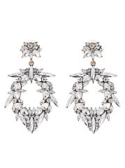 Hollow-Out-Faux-Crystal-Earrings