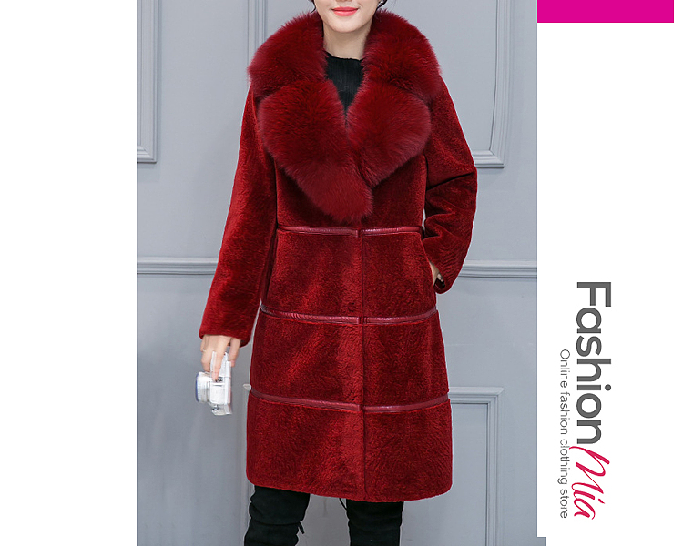 gender:women, hooded:no, thickness:thick, brand_name:fashionmia, outerwear_type:coat, style:fashion,japan & korear, material:faux fur, collar&neckline:lapel, sleeve:long sleeve, embellishment:slit pocket, pattern_type:plain,striped, supplementary_matters:all dimensions are measured manually with a deviation of 2 to 4cm., occasion:event,party, season:winter, package_included:top*1, lengthshouldersleeve lengthbust