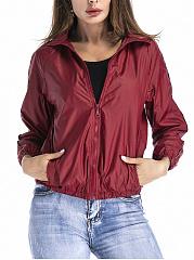 Lapel-Pocket-Plain-Jacket