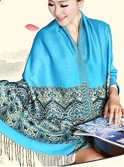 Beautiful-Bohemian-Soft-Cotton-Tassel-Decoration-Scarves