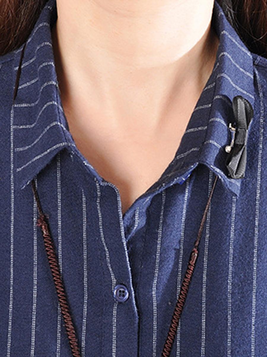 Vertical Striped Flap Pocket Shirt Dress. Vertical ...