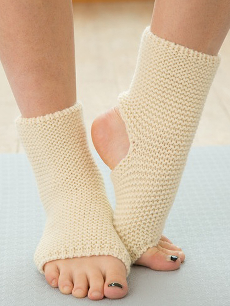 Multifunctional Knit Yoga Leg Warmers