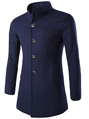 Band-Collar-Solid-Single-Breasted-Men-Woolen-Coat
