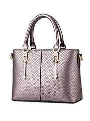 Embossed Plaid High Quality Shoulder Bag