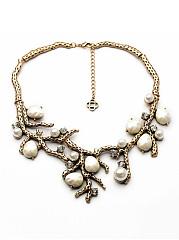 Stylish-Faux-Pearl-Rhinestone-Necklace