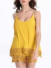 Designed-Decorative-Lace-Plain-Spaghetti-Strap-Romper