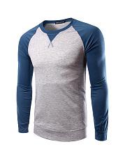 Color-Block-Round-Neck-Men-Shirt