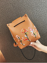 Floral Embroidery Phone Crossbody Bag