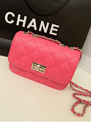 Quilted Chain Pu Crossbody Bag