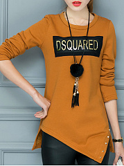 Round-Neck-Asymmetric-Hem-Color-Block-Letters-Long-Sleeve-T-Shirts